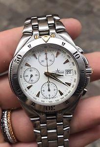 【送料無料】クロノグラフlucien rochat krab automatic chronograph gmt utc dualtime valjoux 7754