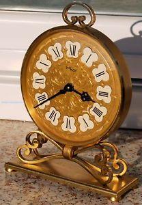 【送料無料】コレクターデスクrarissimo imhof orologio 8 giorni anni 50 da arredo scrivania per collezionisti