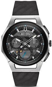 【送料無料】orologio watch bulova curv 98a161