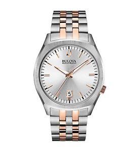 【送料無料】bulova surveyor 98b220 orologio da polso uomo a9w