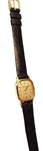 【送料無料】ソリッドゴールドスキンウォッチゴールドcertina orologio donna oro massiccio 18 kt pelle watch woman gold leather nuovo