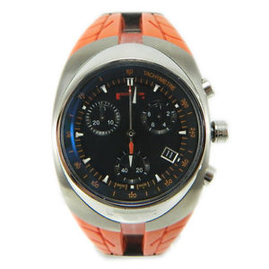 【送料無料】クロックマンクロノクォーツオレンジスイスpirelli pzero watch orologio uomo chrono quarzo orange 7951902195 swiss made