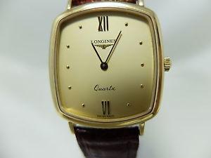 クロックktゴールドorologio longines quartz oro 18kt 750 donna 487ve16