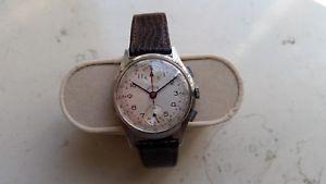 【送料無料】ヴィンテージクロノグラフヴィーナスステンレススチールtelda vintage chronograph venus 170 stainless steel oversize carica manuale
