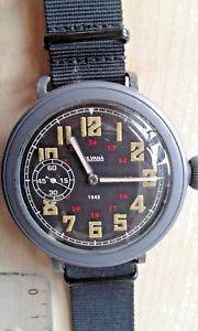 【送料無料】ミリタリーウォッチsilvana 1945 military watch d360908h