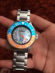 【送料無料】ダイブウォッチbalihai gmt automatico dive watch limited edition 1000m