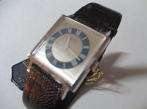 マニュアルロードクロックeberhard orologio a carica manuale nuovo