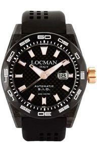 【送料無料】ウォッチチタンorologio locman 0216v4cbcb5n0s2k nero titanio uomo