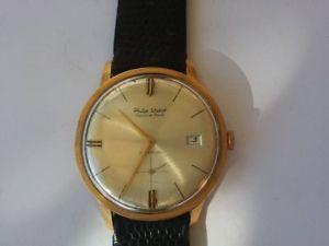 【送料無料】フィリップウォッチパンチゴールドウォッチorologio philip watch chaux de funds incabloc oro 18k con punzone 750 anno 1964