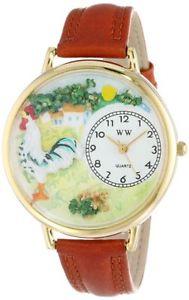 【送料無料】アナログスキンwhimsical watches orologio da polso, analogico al quarzo, pelle b0k