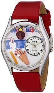 【送料無料】アナログスキンwhimsical watches orologio da polso, analogico al quarzo, pelle t5w