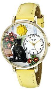 【送料無料】アナログスキンwhimsical watches orologio da polso, analogico al quarzo, pelle e4q