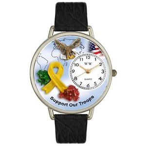 アナログスキンwhimsical watches  orologio da polso, analogico al quarzo, pelle x2g