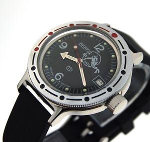 【送料無料】ヴォストークロシアダイバーウォッチロシアvostok amphibia automatic russian diver watch orologio russo 420634