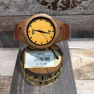 【送料無料】リストorologio greentime zzero in legno prezzo listino 79,00 ref zw030d 40mm