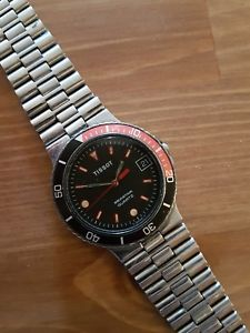 ビンテージティソダイバークォーツvintage tissot seastar diver quartz all original mens whatch