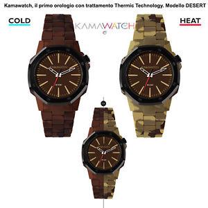 kamawatch il primo orologio con trattamento thermic technology  desert kwp20