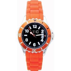 【送料無料】ファッションオレンジゴムパパイヤmoda orologio t10 papaya boy in gomma arancio t10e009a
