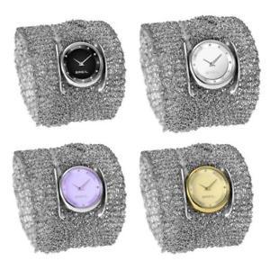 【送料無料】トリプルウォッチドンカフネックレスorologio donna breil infinity triplo indosso bracciale collana limited edition