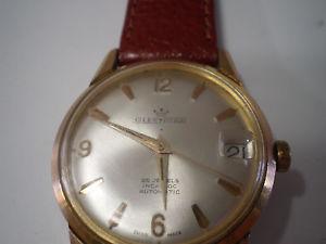 【送料無料】ビンテージスイスgleencar vintage orologio swiss made automatic 25 rubis uomo raro e funzionante