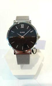 【送料無料】orologio moda cluse solo tempo donna minuit silver codice clucl30015 89,95