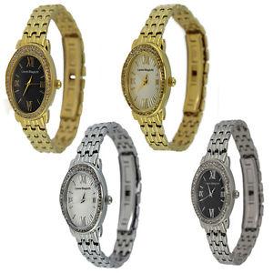 【送料無料】orologio solo tempo donna laura biagiotti cassa ovale e cinturino in acciaio
