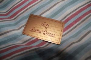 【送料無料】garanzia warranty lucien rochat originale
