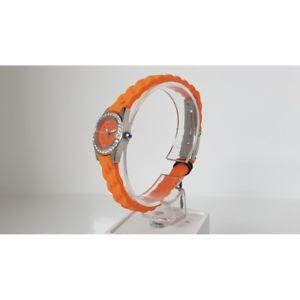 【送料無料】クロックリュジョオレンジスワロフスキーウォッチorologio liu jo donna arancione cristalli swarovski luxury watch montre