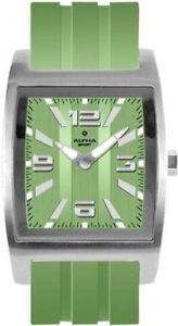 グリーンアルファプラスチックカラーverdeverde alpha saphir 230e  orologio da polso, uomo, plastica, colore uqf