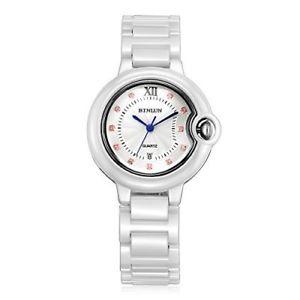 【送料無料】セラミックスmens binlun bl0062mc  orologio da polso da uomo, ceramica, colore onq:hokushin