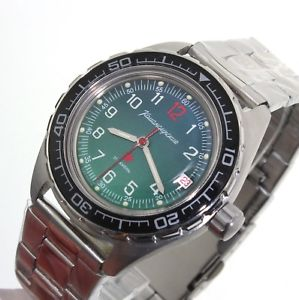【送料無料】ロシアウォッチnuova inserzionevostok komandirskie russian military watch 020711