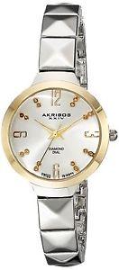 【送料無料】orologio donna akribos xxiv ak793ss v7f