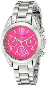 orologio  donna  akribos xxiv  ak809sspk c9o