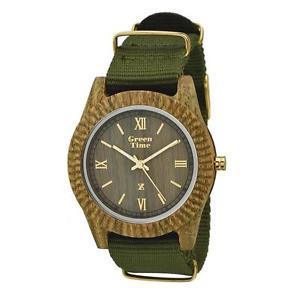 クロックビンテージコレクションタラリストorologio solo tempo uomo green time vintage collection cod zw011c listino 95