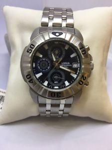 クロノグラフlorus uomo chronograph  ref rm395ax9