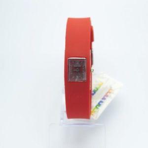 【送料無料】スニーカーリトルレッドシリコンラバーsneakers orologio da polso maschile femminile 002 rosso piccolo silicone gomma