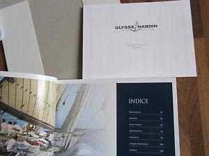 【送料無料】カタログパンフレットリストulysse nardin catalogo brochure book 2015 con listino europeo 2015