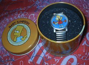 【送料無料】クロックバートシンプソンウォッチシンプソンズガジェットorologio reloj watch bart simpson the simpsons gadgets