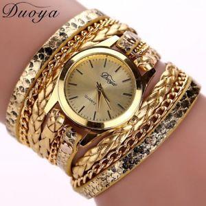 【送料無料】ファッションストラップブレスレットカラーゴールドアナログニュースorologio donna fashion donna cinturino a bracciale colore oro analogico novita