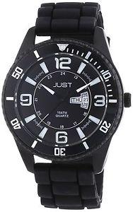 人気が高い 【送料無料】アナログjust watches orologio da polso, analogico al quarzo, caucci, uomo y4b, バイクブロス別館 28231f35
