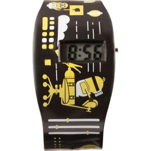 【送料無料】デジタルicial licensed cattivissimo me 3 mad science minion nero orologio digitale