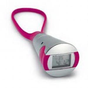 【送料無料】デジタルアークホットピンクストップウォッチarco digitale argento e rosa caldo comodo cronometro ar1353