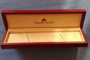 【送料無料】ビンテージモーリスロアボックスvintage maurice lacroix watch box