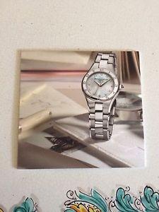 【送料無料】ボーメメルシエプラスチッククロックbaumeamp;mercier pubblicit insegna orologi in plastica bifacciale 17x17