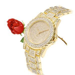 【送料無料】デザインラインストーンクォーツムーブメントフルluxury design full of shiny rhinestone quartz movement wrist watches womanyt