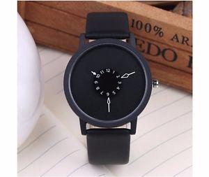 【送料無料】デザイナーシンプルデザインbbg designer orologio al quarzo minimalista alla moda nero bianco donne uomini orologi da polso