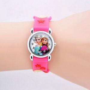 【送料無料】シリコーンクオーツアナログキッズファッションbambini cartone animato orologio da polso orologi ragazze bambini fashion in silicone quarzo analogi