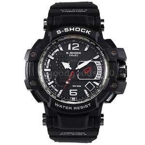 【送料無料】#スタイリッシュスポーツウォッチデュアルmenamp;39;s stylish sports multifunction electronic watch impermeabile dual w3i1