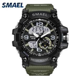 【送料無料】#スタイリッシュスポーツデュアルmenamp;39;s stylish sports multifunction electronic watch impermeabile dual v0t8