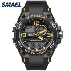 【送料無料】#スタイリッシュスポーツウォッチデュアルmenamp;39;s stylish sports multifunction electronic watch impermeabile dual z6q3